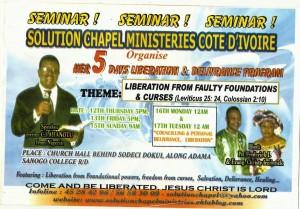 Ivory Coast Ministry